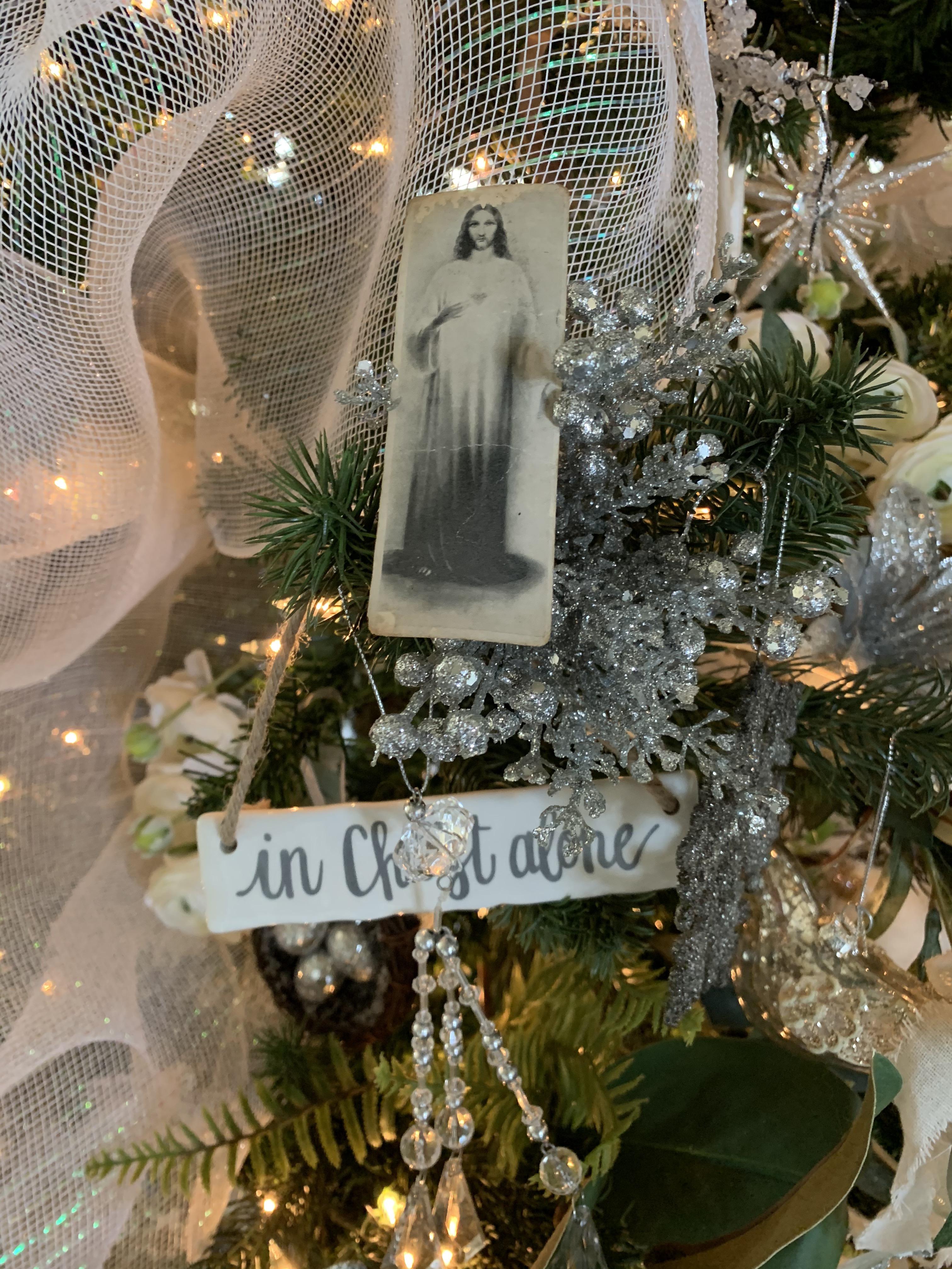 Christ on the tree