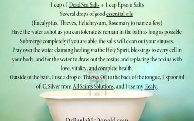 Healing Bath Recipe